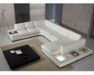 Spectrum Modular Leather Corner Sofa