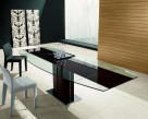 Image for Rodeo Drive Extending Glass Table - BRAND NEW