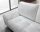 Madison Modern Leather Corner Sofa