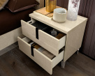 Ombre Sand Birch Nightstand