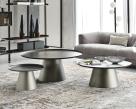 Amerigo Brushed Grey Coffee Table