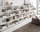 Isla Modern White Gloss Bookcase