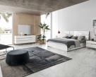 Isla Modern White Gloss Bed