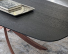 Artistico Barrel Wood Dining Table