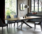 Artistico Extending Wood Dining Table - Designer Table