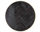 Milo Coffee Table - Black Oak Top
