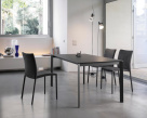 Bontempi Simba Dining Chair in Eco Leather Anthracite