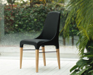 Bontempi Casa - Kelly Dining Chair - Wood Legs