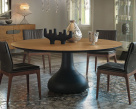Bora Bora Dining Table - Canaletto Walnut Table Top