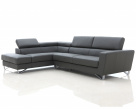 Brook Italian Sofa - Headrest Up