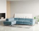 Brook Designer Fabric Corner Sofa