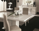 Canova Extending Dining Table - Marble Base