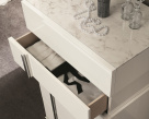 Canova Tallboy Open Drawer