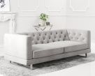 Capriotti Chesterfield Style Fabric Sofa