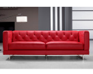 Capriotti Leather Sofa