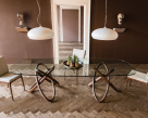 Carioca Dual Dining Table - Boat Shaped Top