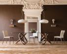 Carioca Dual Dining Table - Walnut Base