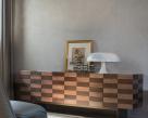 Chess Walnut and Dark Oak Sideboard