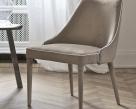 Clara Nabuk Fabric Upholstered Leg