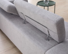 Brook Fabric Sofa - Headrest View