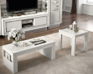 Dexter High Gloss Side Table and Coffee Table