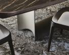 Dragon Keramik Premium Dining Table - Black Profile