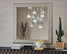 Egypt Mirror - Silver Foil