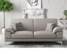 Evan Leather Sofa