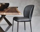 Chris ML Leather Dining Chair