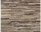 Gucho Modern Dark Grey Stripe Rug - Asiatic