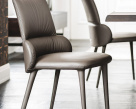 Ginger Dining Chair Leather Dining Chair