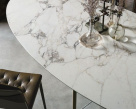 Glamour Marble Top Dining Table