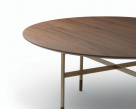 Glamour Oval Wood Dining Table from Bontempi Casa
