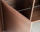 Hedra Sideboard - Glass Shelving