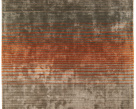 Holborn Designer Orange Rug - Asiatic