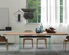 Ikon Wood Top Dining Table - Natural Edge