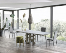 Imperial Extending Glass Dining Table
