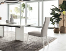 Isla White Gloss Dining Chair