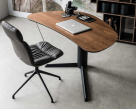 Kelly Office Chair with Island Desk