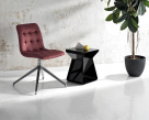 Kuga Slim Swivel Dining Chair