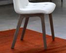 Kuga Dining Chair - Buttoned Seating