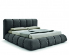 Sharpei Graphite Cotton Bed