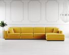 Lexus Fabric Corner Sofa