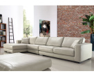 Lexus Leather Corner Sofa