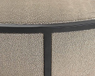 Remy Coffee Table - Shagreen Faux Leather Upholstery