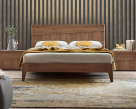 Mabel Walnut Bed