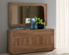 Mabel Walnut Mirror