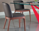 Magda Leather Dining Chair