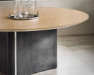 Magnum-Round-Dining-Table - Canaletto Walnut