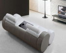 Marshmellow Leather Sofa - Drinks Holder View